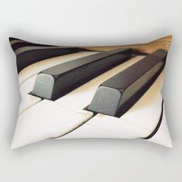 The Fractured Ivories. Rectangular Pillow