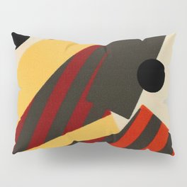 Abstract in Stripes and Dots Pillow Sham