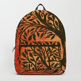 Tree Of Life Warm Tones Backpack