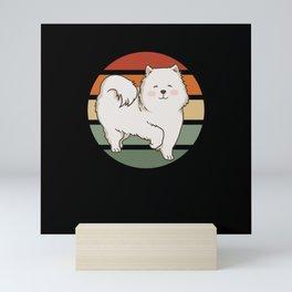 Samoyed Dog Gift Mini Art Print