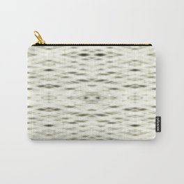 Yellow Zigzag Pattern Carry-All Pouch