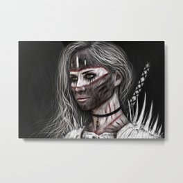 Ashes and What Once Was Metal Print