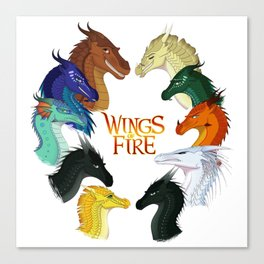 Wings Fire - All Together Canvas Print