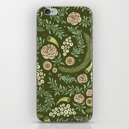 Spring Walk Floral iPhone Skin