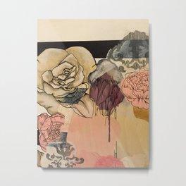 La Vie en Rose Pt II Metal Print