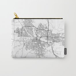Minimal City Maps - Map Of Eugene, Oregon, United States Carry-All Pouch