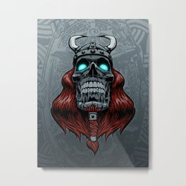 Valhalla Awaits Metal Print