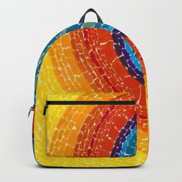 African American Masterpiece The Eclipse by Alma Thomas Backpack