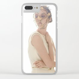 Wildlings Clear iPhone Case