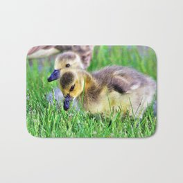 Canada Day Goslings by Reay of Light Bath Mat