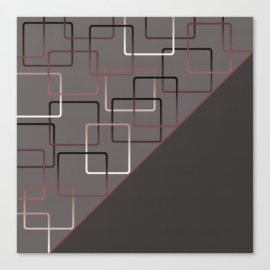 ABSTRACT GEOMETRIC Canvas Print