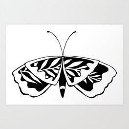 Butterflower #02 Art Print