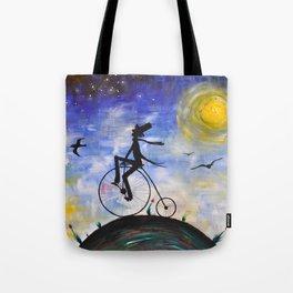 Evening Bike Ride Tote Bag