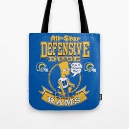 Defensive Dudes - Los Angeles Tote Bag