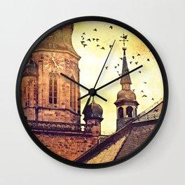 Heidelberg Church Of The Holy Spirit tower Wall Clock