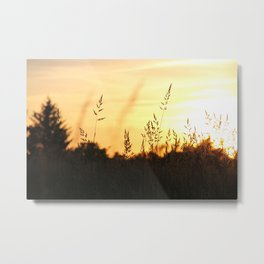Sunset approaches Metal Print