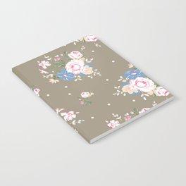 Heirloom Rose - Raw Umber Notebook