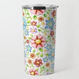 Flower Meadow Travel Mug