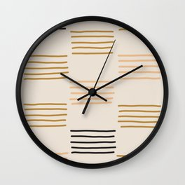 hatches Wall Clock