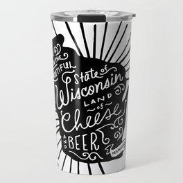 Wisconsin Pride Travel Mug