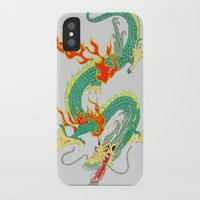 chinese iPhone & iPod Cases featuring Chinese Dragon by J&C Creations