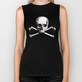 Skull and Crossbones | Jolly Roger Biker Tank