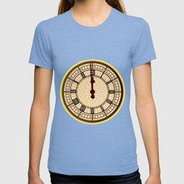 Big Ben Midnight Clock Face T-shirt