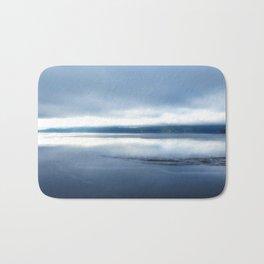 Soft winter sky Bath Mat