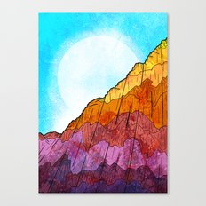 The Tall Cliff Canvas Print