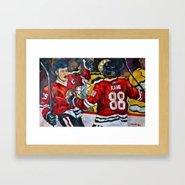 Toews and Kane Framed Art Print