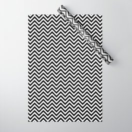 Black and White Chevron Wrapping Paper