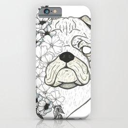 "Dog ""Dissolution IX"" iPhone Case"