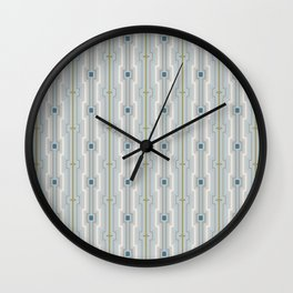 Squares pattern Wall Clock