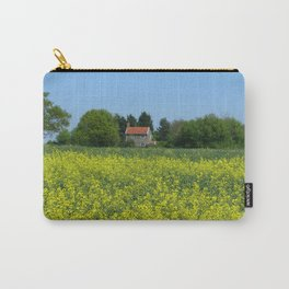 Golden Yellow Carry-All Pouch