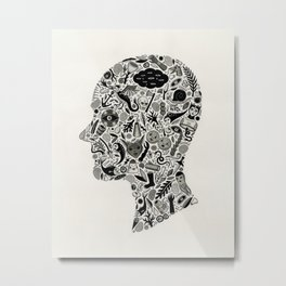 It's All In My Head Metal Print