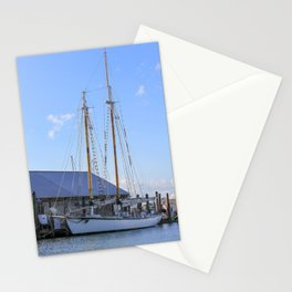 Getting Ready to Set Sail Stationery Cards
