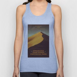 Athabasca Sand Dunes Poster Unisex Tank Top