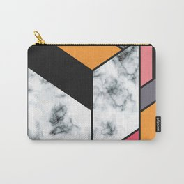 Marble & Geometry 012 Carry-All Pouch