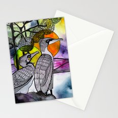 Cormorants Stationery Cards