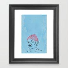 Just Bill Framed Art Print