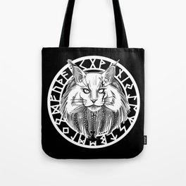 Viking Cat Tote Bag