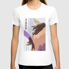 Jazz Illustration T-shirt