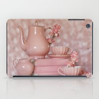 peach iPad Cases featuring Peach by With Love & Lace...
