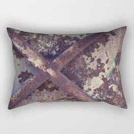 Rusty Metal Cross Rectangular Pillow