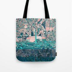 washington dc city skyline Tote Bag