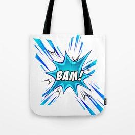 Manga Sound Effect - BAM! Tote Bag