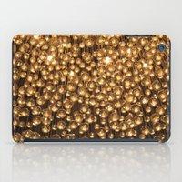 chandelier iPad Cases featuring Chandelier  by Emily Joie de Vivre