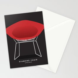 Diamond Chair - Harry Bertoia Stationery Cards
