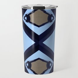 geometry and the sky Travel Mug