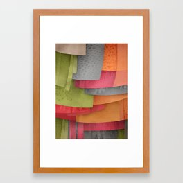 Explore colour Framed Art Print